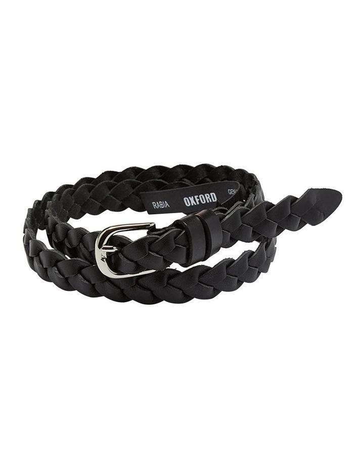 Rabia Plaited Leather Belt image 1
