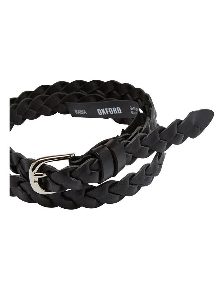 Rabia Plaited Leather Belt image 2