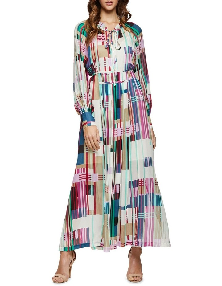 Montobello Stripe Print Maxi Dress image 1