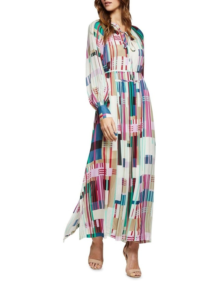 Montobello Stripe Print Maxi Dress image 5