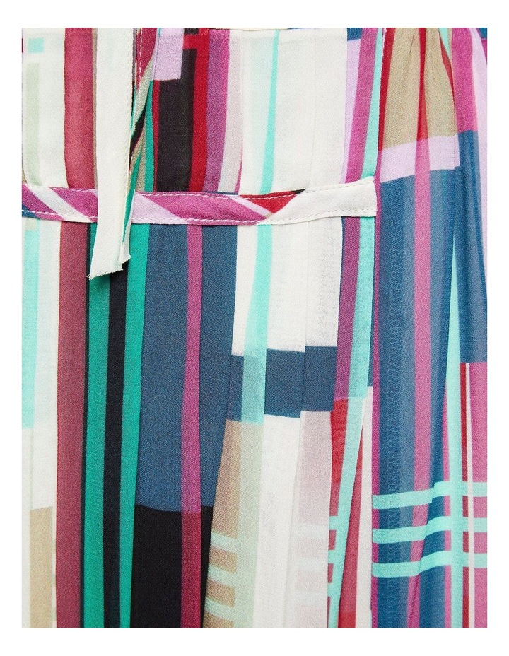 Montobello Stripe Print Maxi Dress image 6