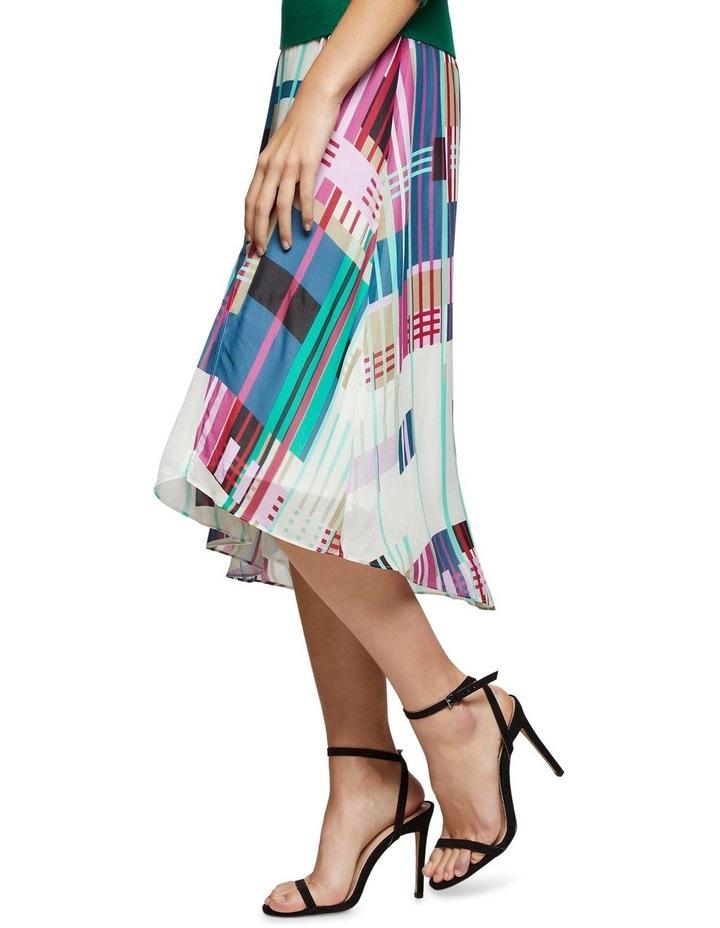 Billy Stripe Print Skirt X image 2