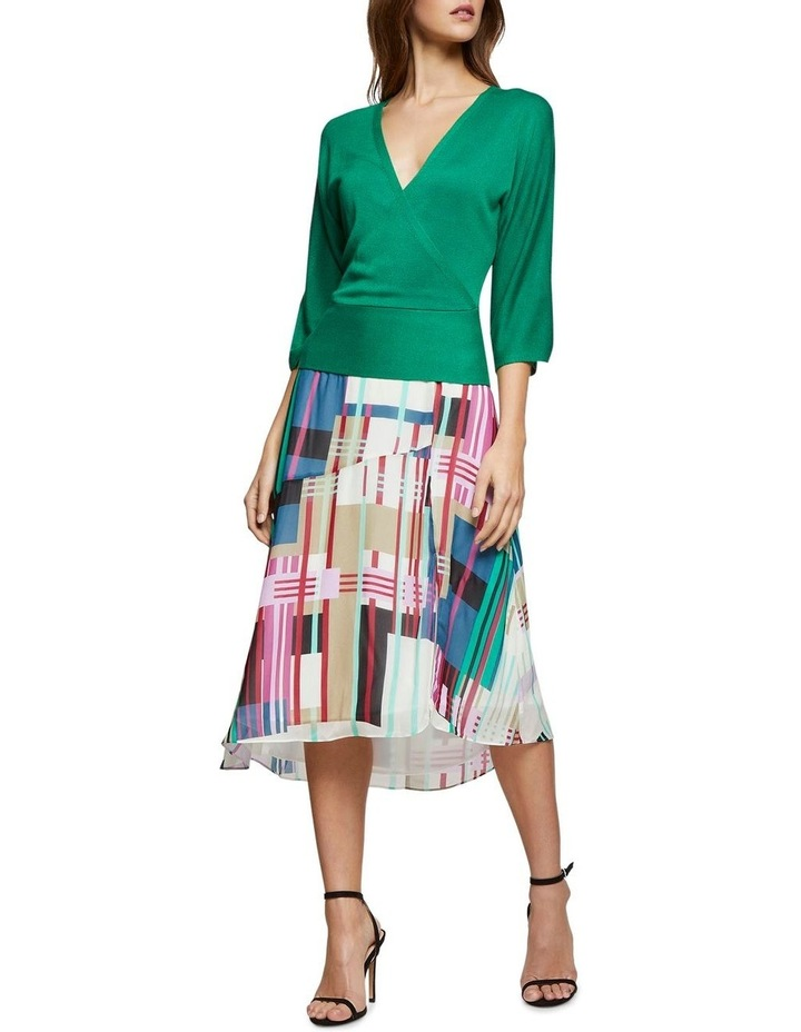 Billy Stripe Print Skirt X image 5
