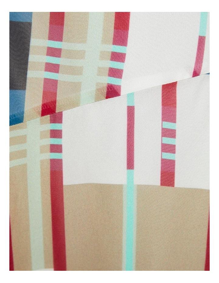 Billy Stripe Print Skirt X image 6