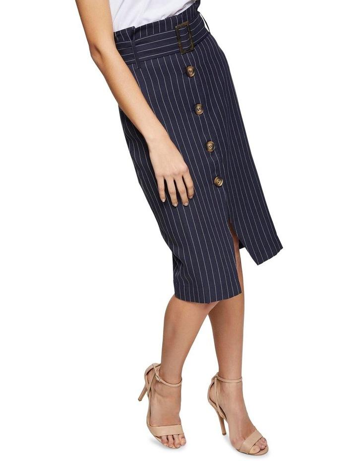 Chrissy Pinstripe Paperbag Skirt image 4