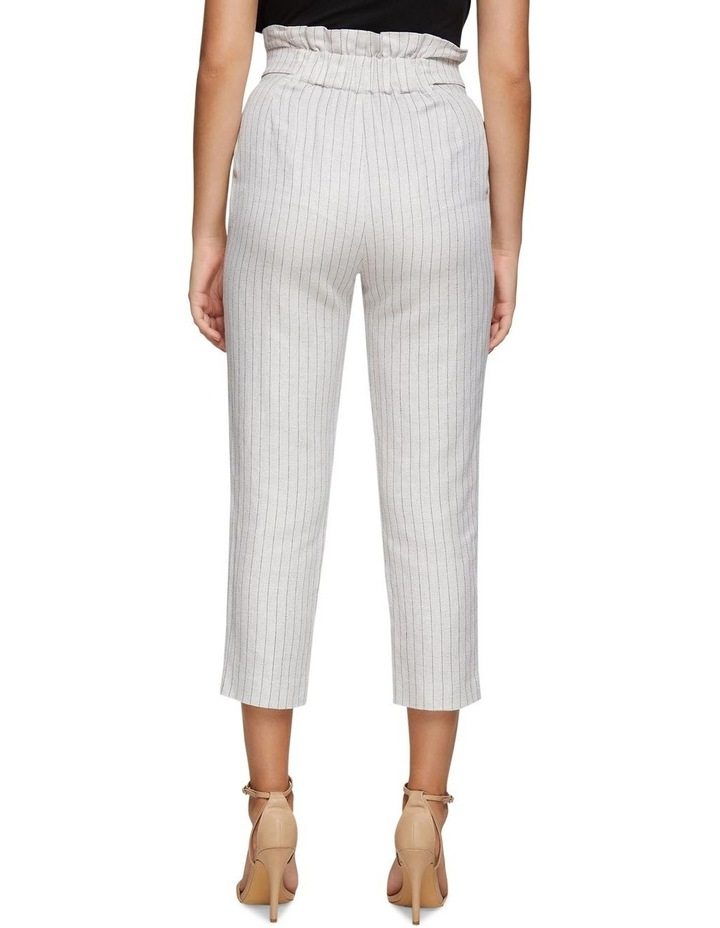 Evie Pinstripe Paperbag Trousers image 3