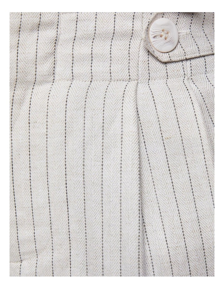 Evie Pinstripe Paperbag Trousers image 6
