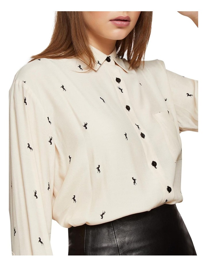 Lilly Horse Printed Blouse image 4