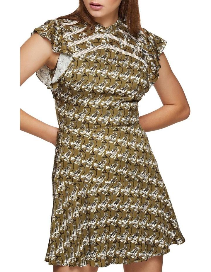 Romela Geo Floral Dress image 4