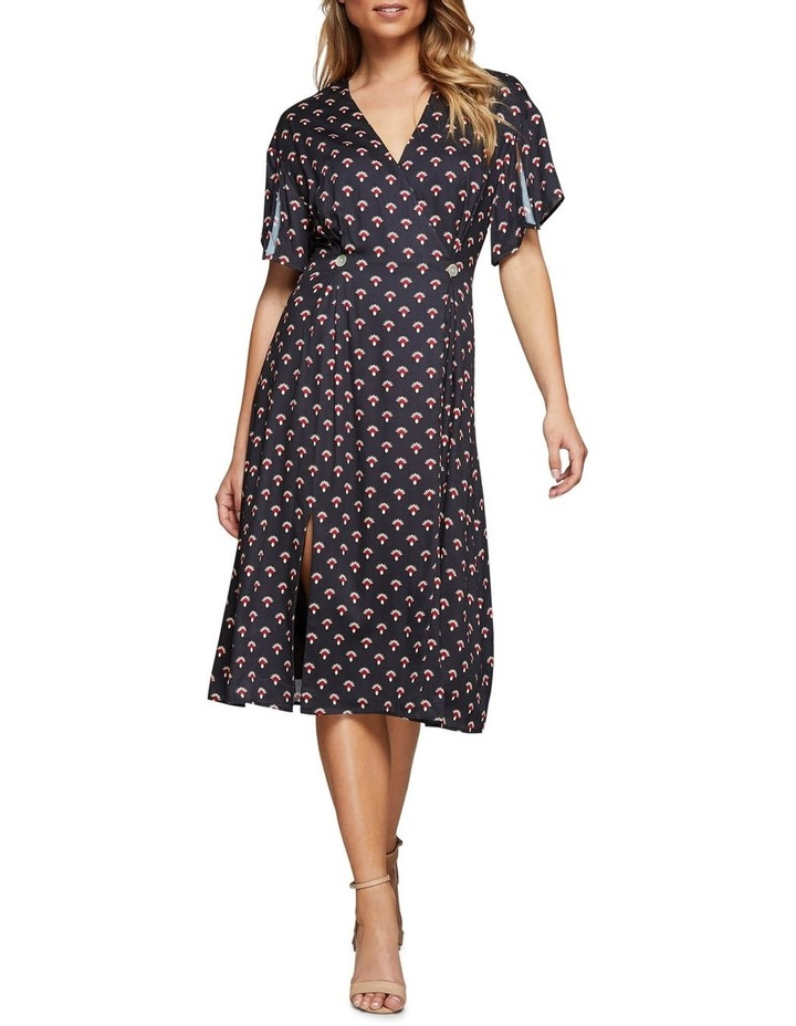 Karo Geo Print Dress image 1