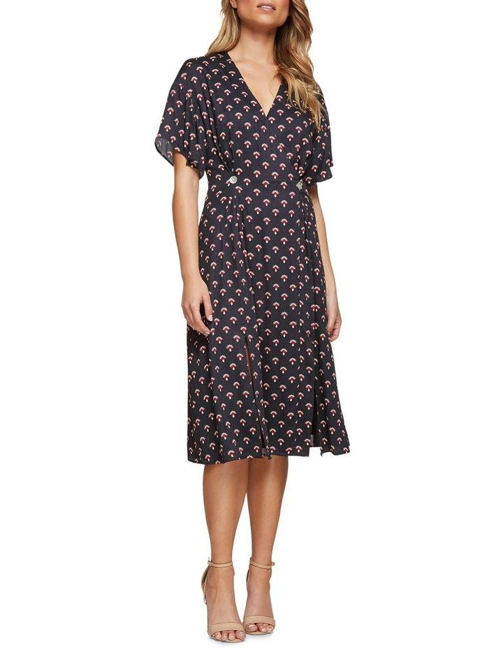 Karo Geo Print Dress image 4
