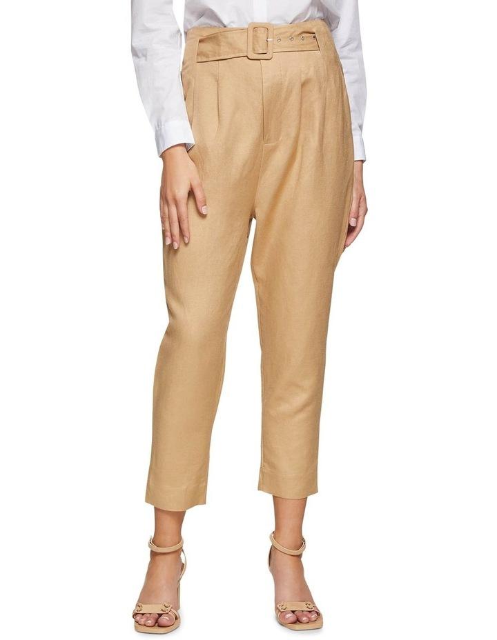 Lulu Belt Waist Pants image 1