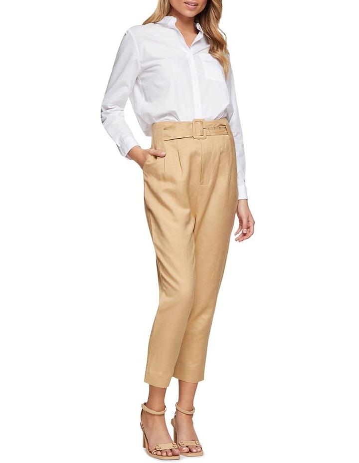 Lulu Belt Waist Pants image 5