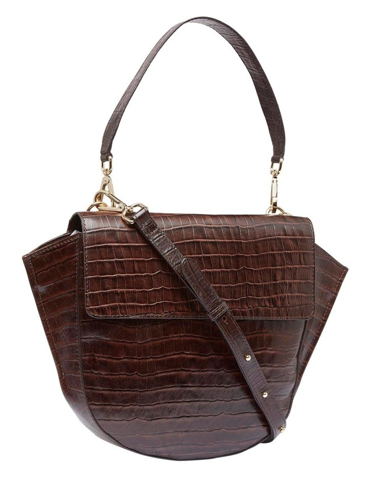 Belinda Croc Shoulder Bag image 1