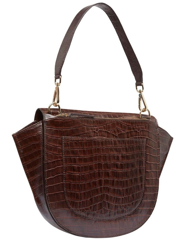Belinda Croc Shoulder Bag image 2