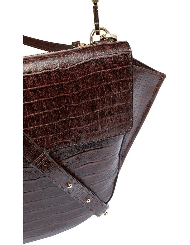 Belinda Croc Shoulder Bag image 3
