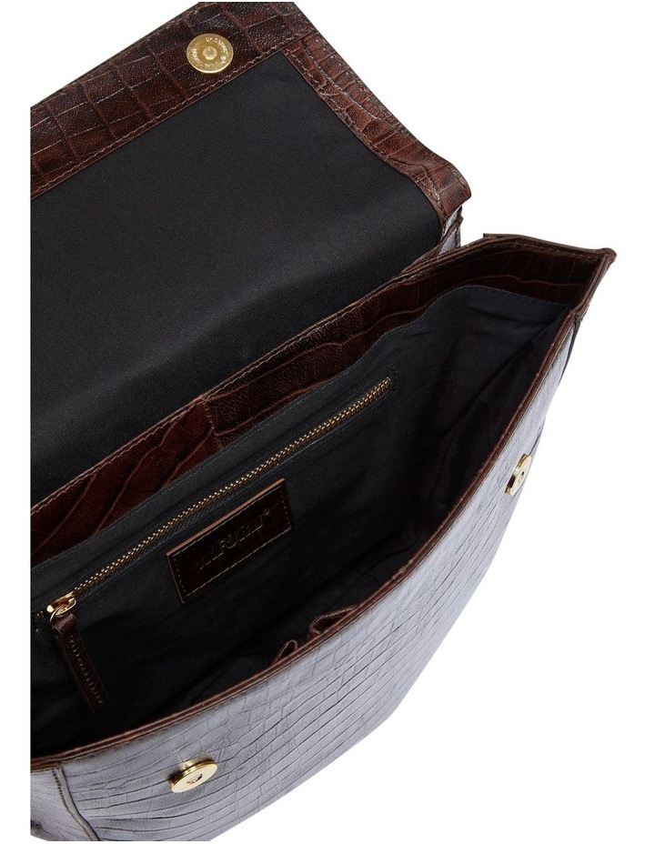 Belinda Croc Shoulder Bag image 4