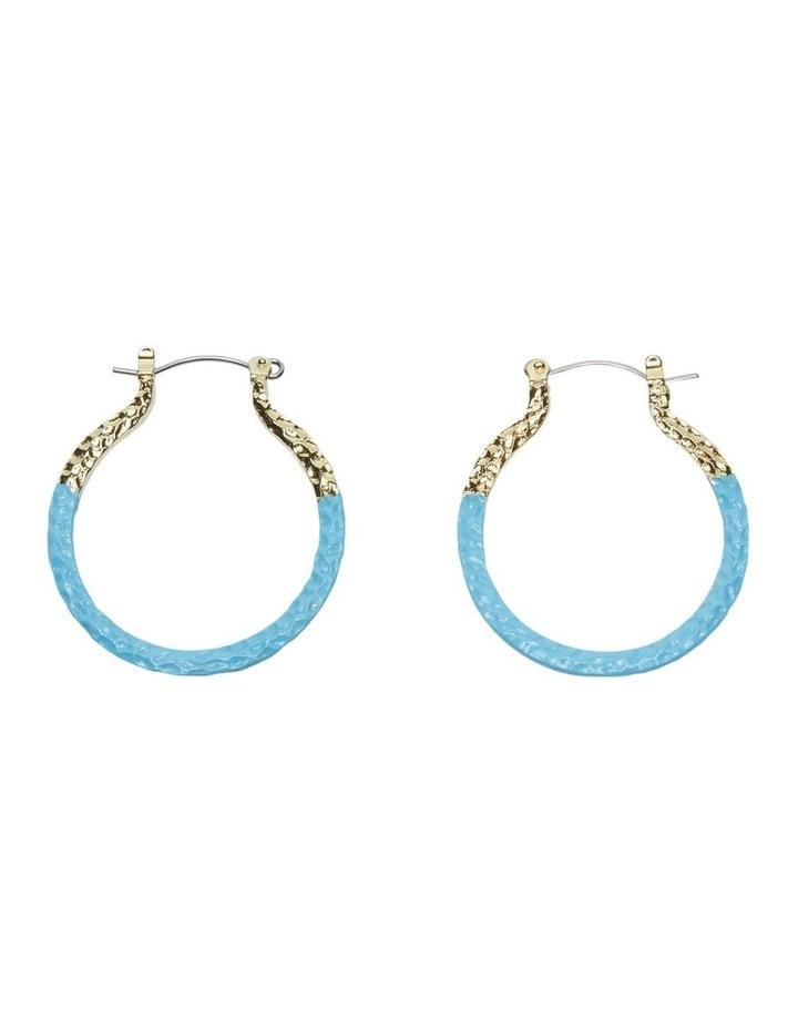 Wren Hoop Earrings image 1
