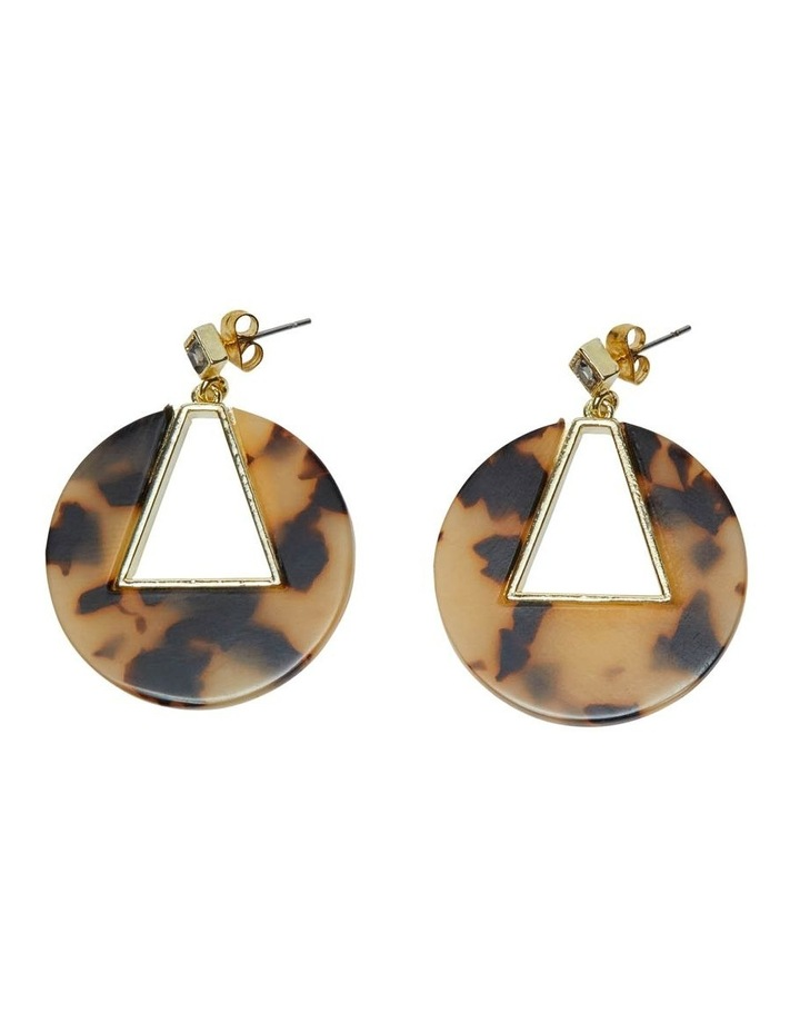 Athena Turtoiseshell Earrings image 1