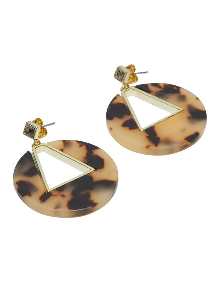 Athena Turtoiseshell Earrings image 2
