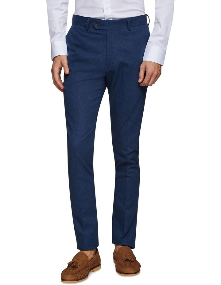 Stretch Textured Trousers image 1