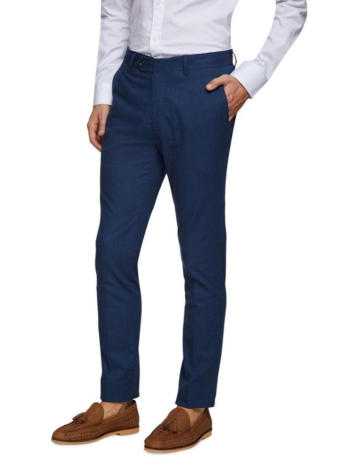 Stretch Textured Trousers image 2