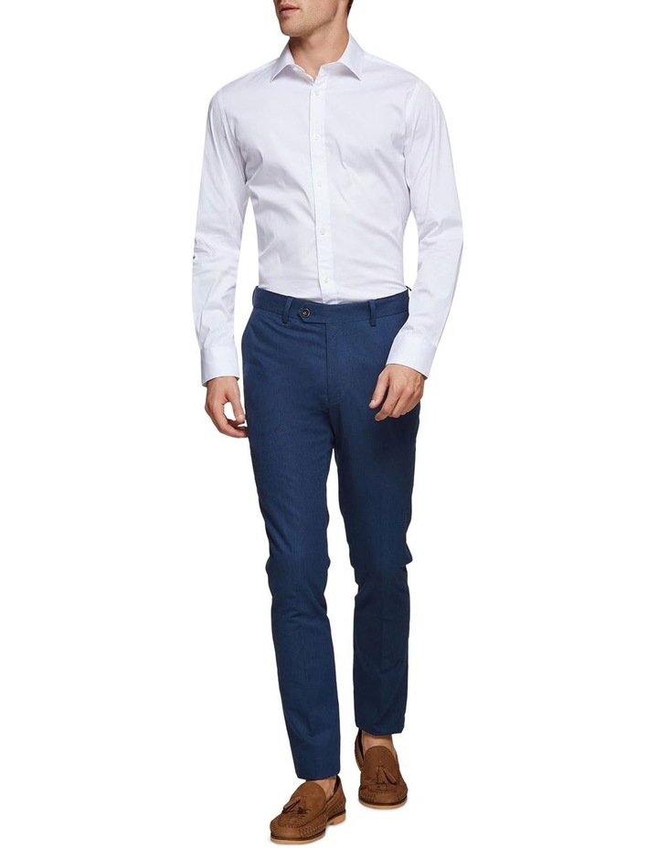 Stretch Textured Trousers image 5