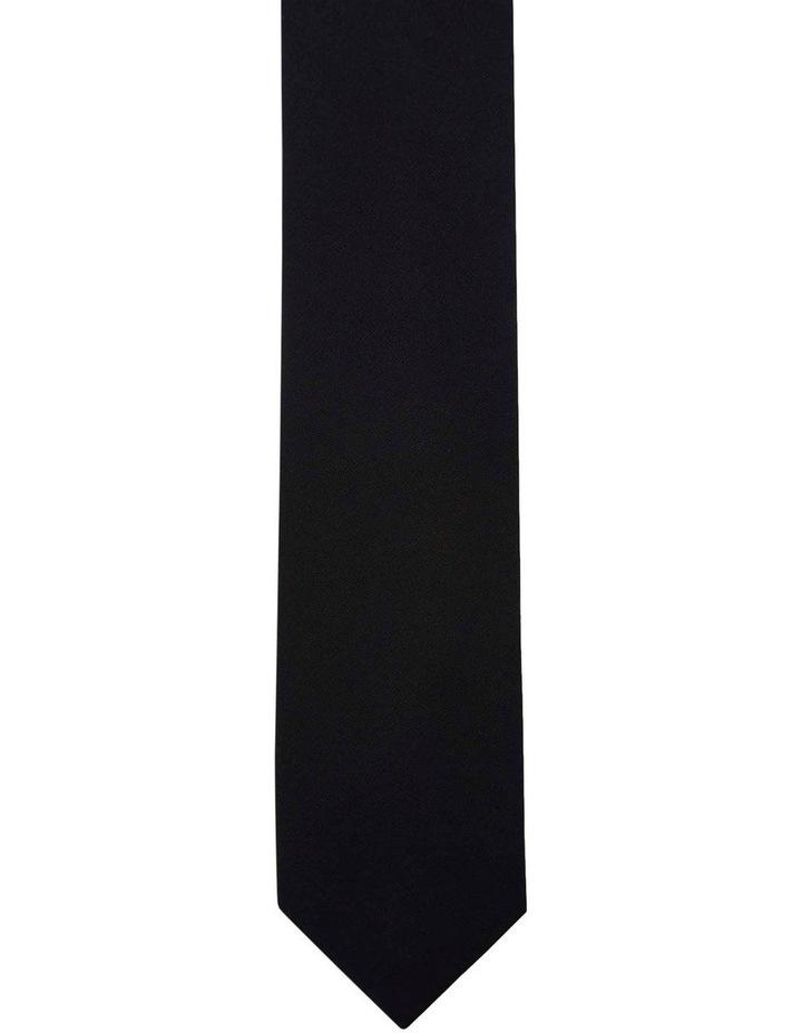 Tie Cotton Skinny Black image 1