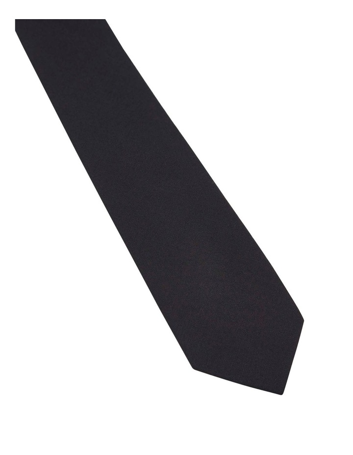 Tie Cotton Skinny Black image 2