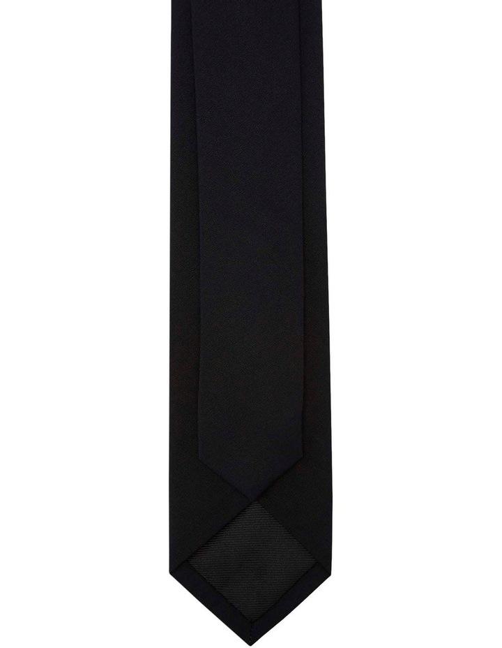 Tie Cotton Skinny Black image 3