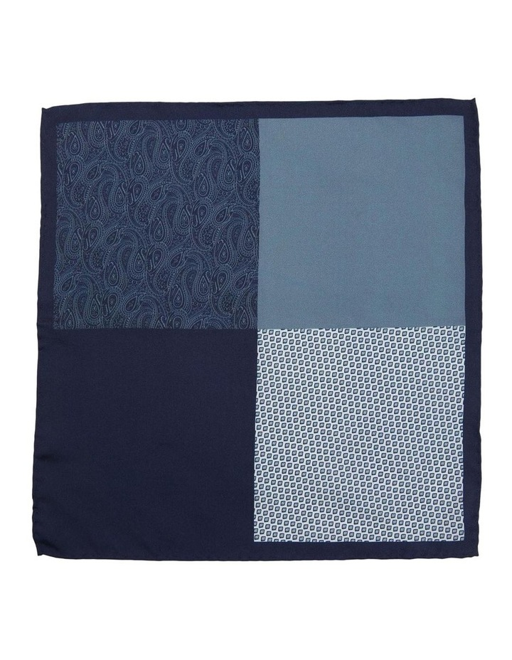 Pocket Square Printed Silk Multi image 3