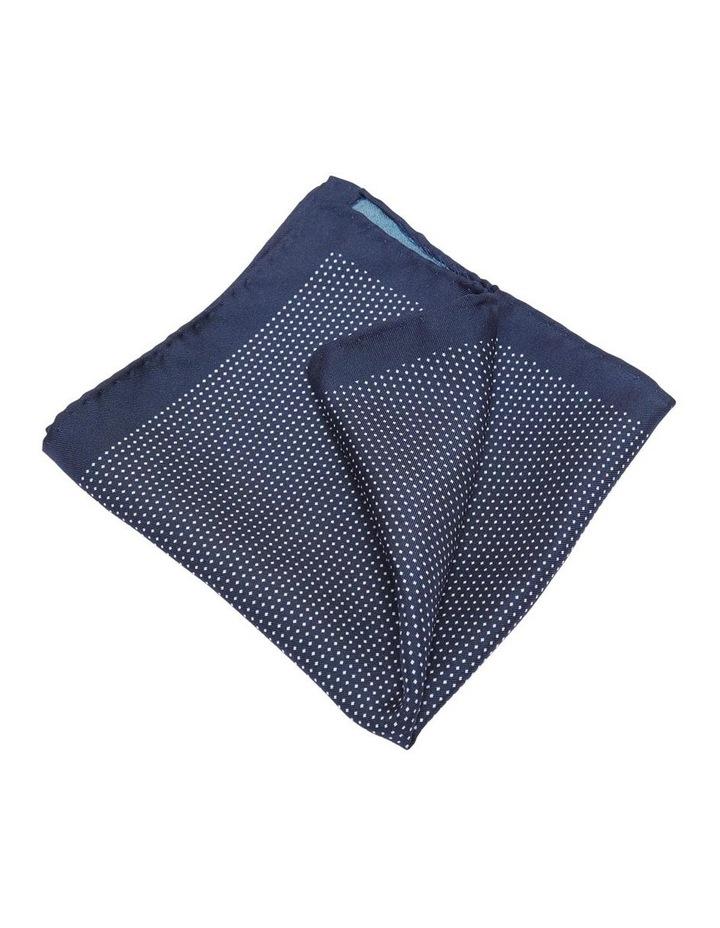 Pocket Square Micro Spot Print Silk image 1