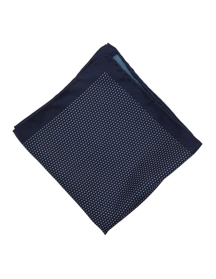 Pocket Square Micro Spot Print Silk image 2