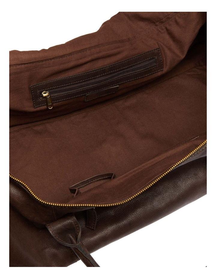 Reid Leather Weekender Bag image 3