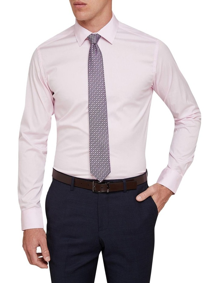 Pink Stretch Travel Shirt image 1