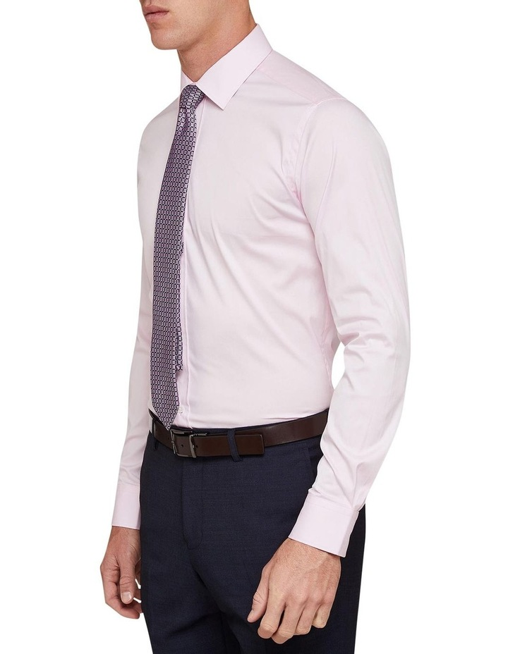 Pink Stretch Travel Shirt image 2