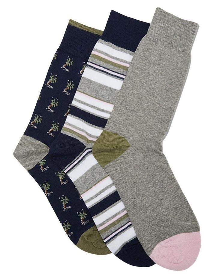 Lucas 3 Pack Socks image 1