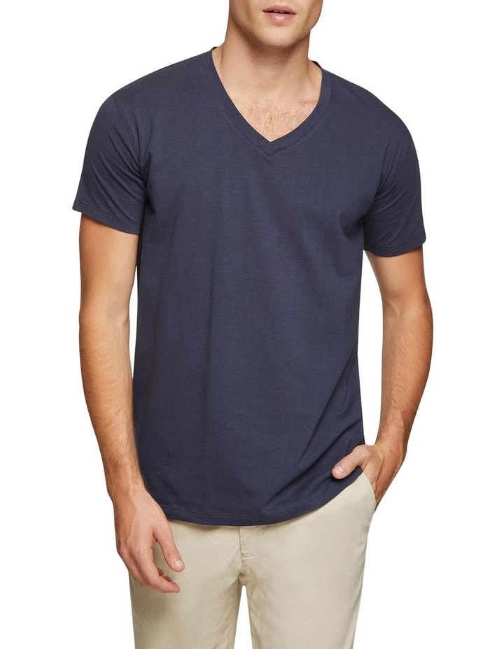 Peter Stretch V-neck T-shirt image 1