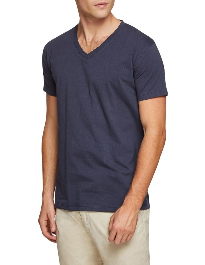 Peter Stretch V-neck T-shirt image 2