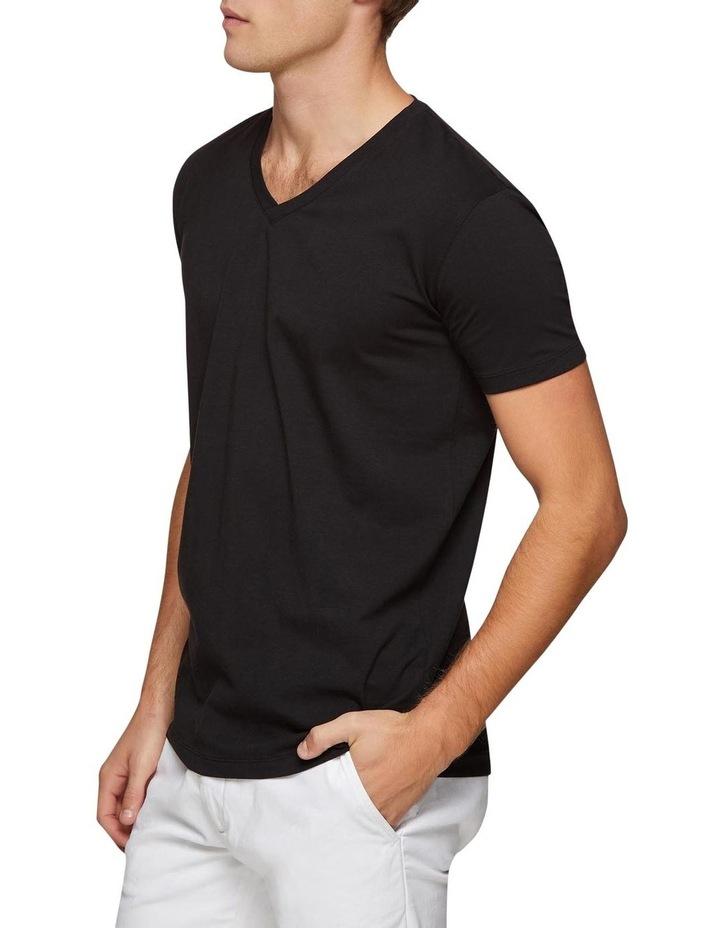 Peter Stretch V-neck T-shirt image 2