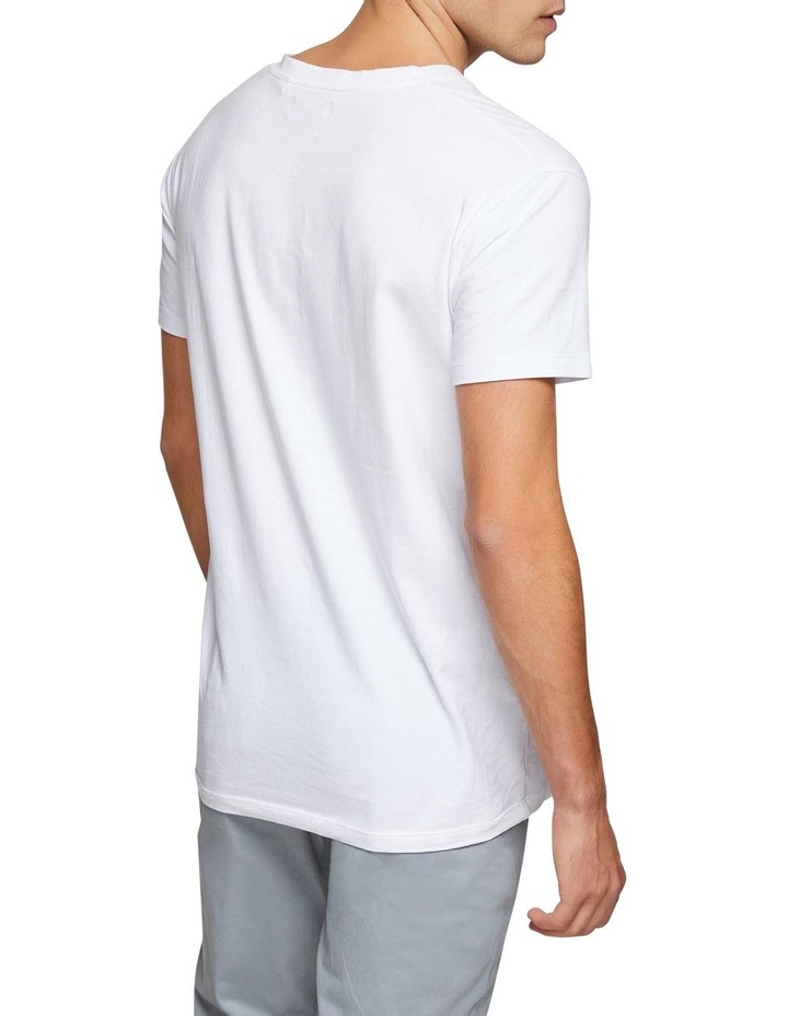 Peter Stretch V-Neck T-Shirt image 3