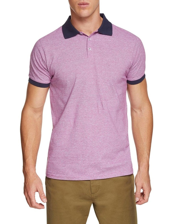 Jay Feather Stripe Polo image 1