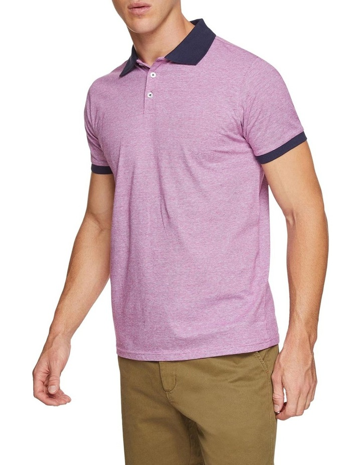 Jay Feather Stripe Polo image 2