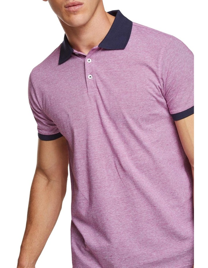 Jay Feather Stripe Polo image 4