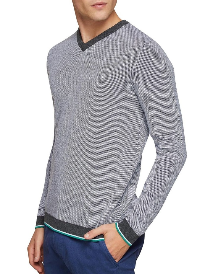 Callum Cotton Silk V-Neck Pullover image 2