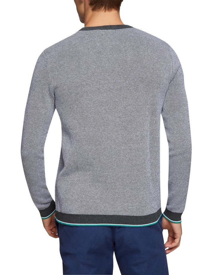 Callum Cotton Silk V-Neck Pullover image 3