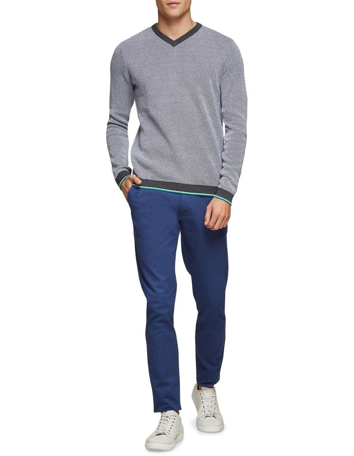 Callum Cotton Silk V-Neck Pullover image 5