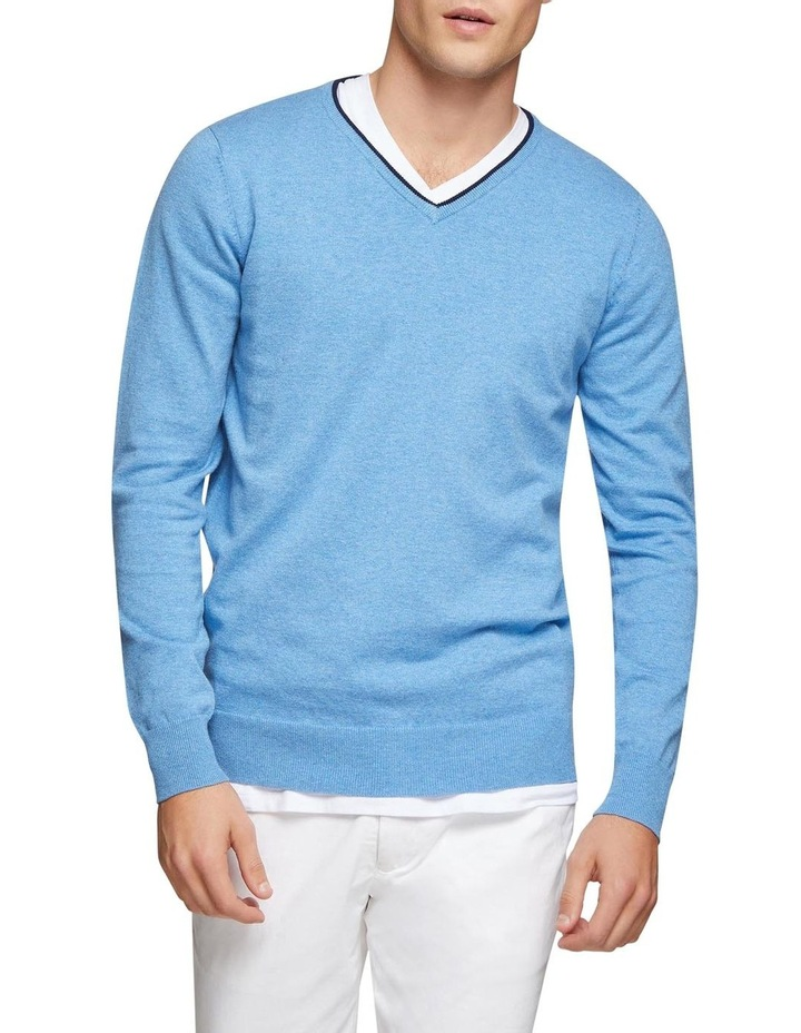 Perry Tipping V-Neck Pullover image 1