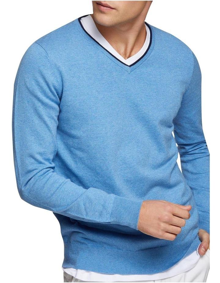 Perry Tipping V-Neck Pullover image 4