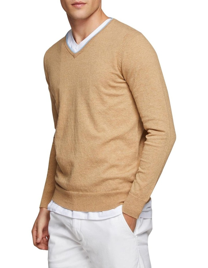 Perry Tipping V-Neck Pullover image 2